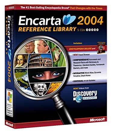 Encarta Reference Library 2004 [OLD VERSION]