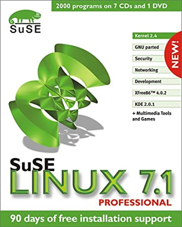 SuSe LINUX 7.1 Professional