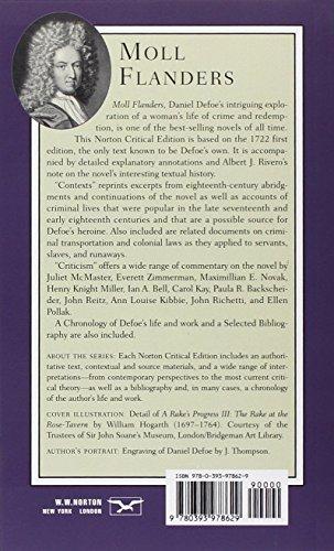 Moll Flanders (Norton Critical Editions)