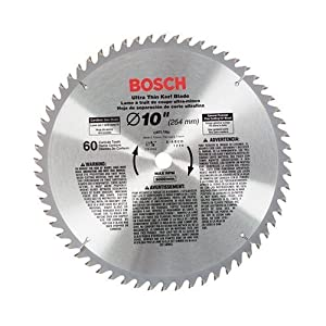 Bosch CBCL1060 10-Inch 60 Tooth ATB General Purpose Saw Blade with 5/8-Inch Arbor at Sears.com