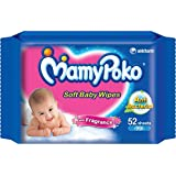 MamyPoko Soft Baby Wipes (52 Count)