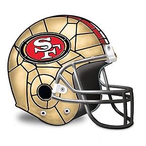 NFL San Francisco 49ers Helmet Accent Lamp by The Bradford Exchange by Bradford Exchange
