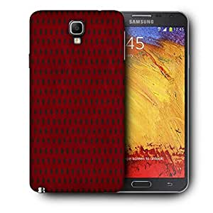 Snoogg Red_Polkadots Printed Protective Phone Back Case Cover For Samsung Galaxy NOTE 3 NEO / Note III