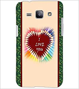PrintDhaba Quote D-3779 Back Case Cover for SAMSUNG GALAXY J1 (Multi-Coloured)