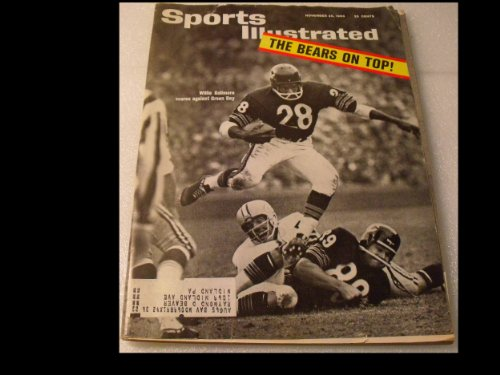 Sports Illustrated Magazine November 23, 1963 (Sports Illustrated) at Amazon.com