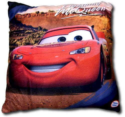Disney Cars LED Light-Up Decorative Pillow