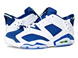 (ナイキ) NIKE AIR JORDAN 6 RETRO LOW エア ジョーダン 6 レトロ ロー WHITE/GHOST GREEN/INSIGNIA BLUE 304401-106 US10-28.0cm [並行輸入品]