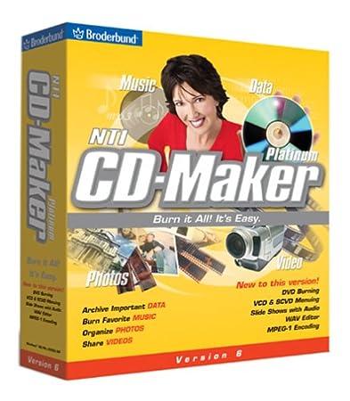 NTI CD Maker 6 Platinum 6