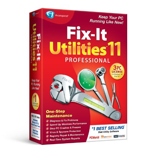 Fix-It Utilities 11 Professional [Old Version]