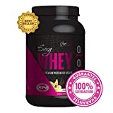 Gym Vixen Sexy Whey (French Vanilla) 30 Serv - Best Protein Powder for Women - Premium Whey Protein Isolate - Great Tasting! Low Calorie, Fat Free, Zero Carb, High in Folic Acid, Vitamin D and Calcium