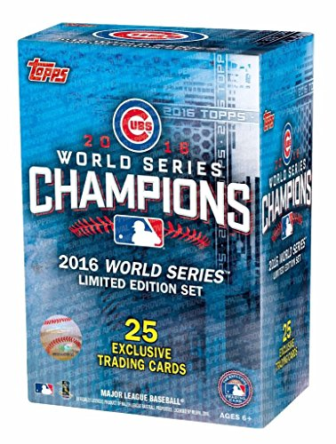 Chicago Cubs 2016 Topps Baseball World Series Champions