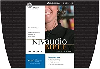 NIV Audio Bible Voice Only CD written by Zondervan