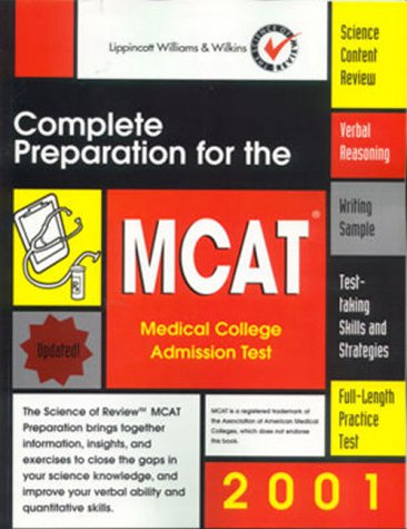 Complete Preparation for the MCAT 2001: Medical College Admission Test (Books)