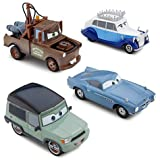US Disney Store Limited Cars 2 Cars2 Save The Queen Die Cast Set 4 kinds set