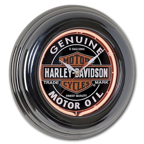 Harley-Davidson Oil Can Clock