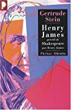 Henry James : Précédé de William Shakespeare