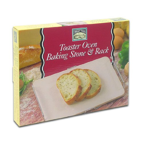 Toaster Oven Baking Stone & Review