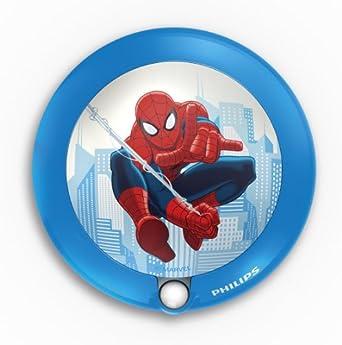 Philips Marvel Spider-Man Children's Sensor Night Light - 1 x 0.06 W Integrated LED