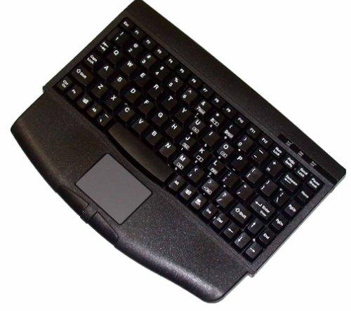 Adesso Mini Black USB Keyboard with Glidepoint TouchpadB00008XOH7