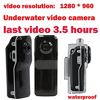 XJCGS NEW 1280 * 960P HD Waterproof Action Video Camera Sound Activated Mini Sports Camcorder Micro digital action cam for Action Sports, Surveillance and Motorcycling / cycling