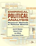 Empirical Political Analysis: Research Methods in Political Science (6th Edition) (0321298608) by Jarol B. Manheim