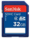 SanDisk 32GB SDHC Flash Memory Card (SDSDB-032G-B35)