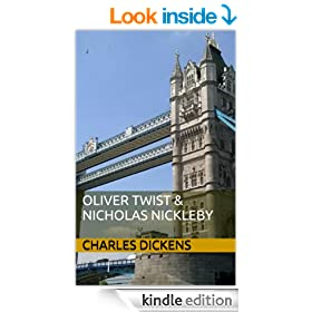 Oliver Twist & Nicholas Nickleby (Charles Dickens Classic Books Book 2)