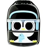 CuteZcute 2-Tier Kids Bento Lunch Box Food Container, Baby Cool Penguin