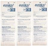 genuine eureka fg disposable dust bag 52320c 6 3 pack