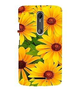 EPICCASE Sunflowers Mobile Back Case Cover For Moto X 3rd Gen (Designer Case)