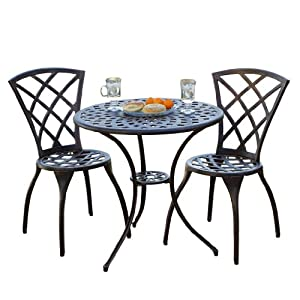 Glenbrook bistro set for Best deals on patio furniture sets