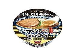 日清 行列のできる店のラーメン TOKYO特濃魚介とんこつ 121g×12個