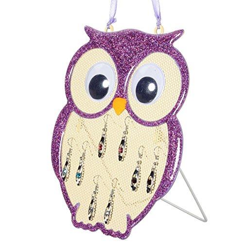 charminer-4-colors-metal-owl-hanger-necklace-earrings-jewellery-holder-stand-display-uk-purple