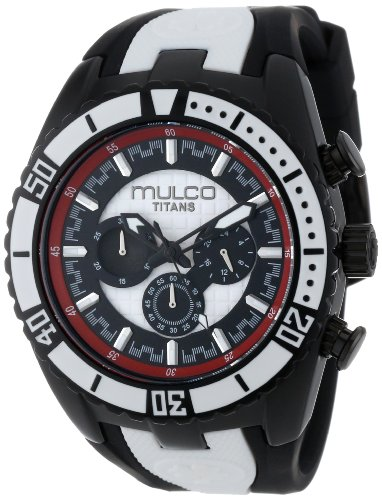 MULCO MW5-1836-026 UNISEX BLACK LEATHER CASE RRP £168 WATCH