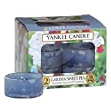 Yankee Candle 12-Piece Tea Lights, Garden Sweet Pea
