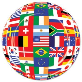 International-Flags-9-Plates