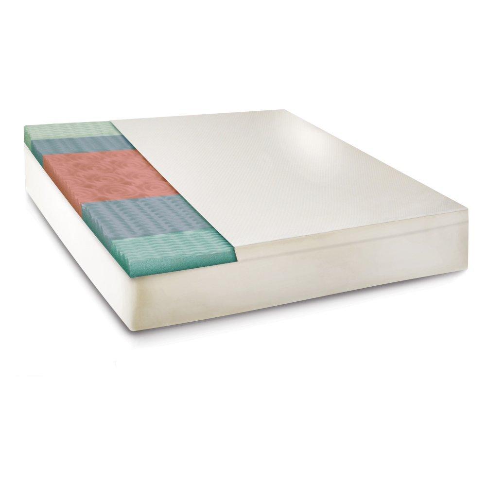 SensorPEDIC Slumber Supreme 5-Zoned Memory Foam Mattress Topper, California King sensorpedic slumber supreme 5 zoned memory foam mattress topper california king