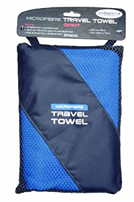 Giant Travel Towel - Microfibre - Colour Turquoise Size One Size
