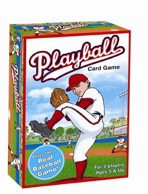 I Play Playball! Card Game by International Playthings - 1