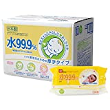 水99.9%  新生児のための おしりふき 厚手タイプ 60枚入×15パック (900枚) ランキングお取り寄せ