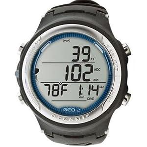 Oceanic GEO 2.0 - plateado y azul - ordenador de buceo - 04-8929-16
