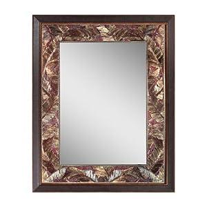 Head West Tropical Leaf Mirror, 27 by 35-Inch