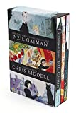 img - for Neil Gaiman/Chris Riddell 3-Book Box Set: Coraline; The Graveyard Book; Fortunately, the Milk book / textbook / text book