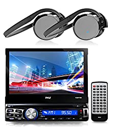 See 1 X New Pyle PLBT73G 7-inch Bluetooth CD/Multimedia AM/FM Radio AUX Input Player Stereo Receiver With GPS Navigation Headunit with Built-in Mic for Hands-Free Call Answering Touch Screen USB/SD Card Readers + 2 X PHBT5S Stereo Bluetooth Streaming Wireless Details