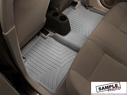 2011-2014 Nissan Frontier SL Gray Weathertech Rear FloorLiner in Grey Rear FloorLiner