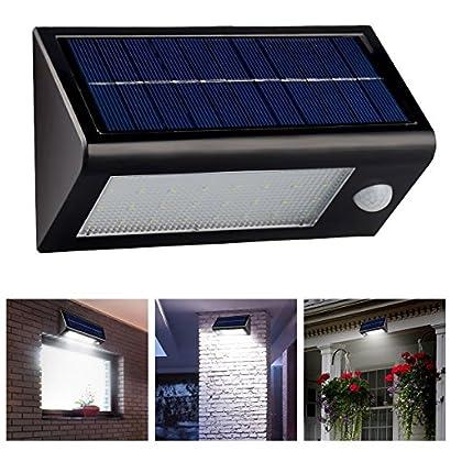 LOT Solar 16 LED Power Motion Sensor Garden Security Lamp Waterproof Light MG