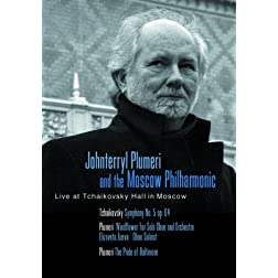Johnterryl Plumeri and the Moscow Philharmonic Live at Tchaikovsky Hall in Moscow