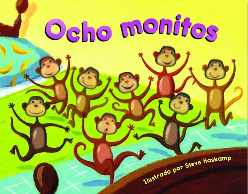 Bendon Publishing Ocho Monitos (Eight Silly Monkeys -Spanish Edition) - 1
