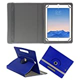 ACM ROTATING 360° LEATHER FLIP CASE FOR APPLE IPAD AIR 2 TABLET STAND COVER HOLDER DARK BLUE
