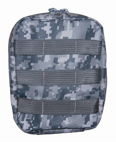 ACU Digital Camouflage Molle EMT Pouch First AID BAG Great for Hiking and Camping
